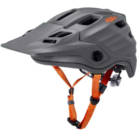 Kali Maya 2.0 Casco, matt grey/orange